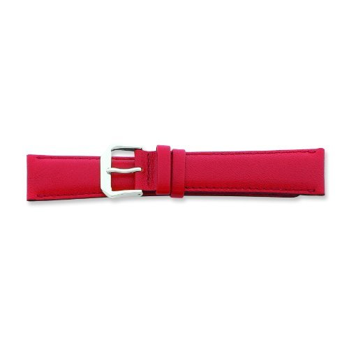 debeer-de-beer-red-leather-watch-band-12mm-silver-color