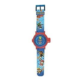 Paw Patrol- Orologio con Proiettore Regolabile 20 Immagini per Bambini, Blu, DMW050PA