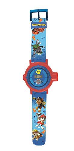 Patrulla Canina Reloj Pulsera con proyector de Imagen (Lexibook DMW050PA), Color Azul, única