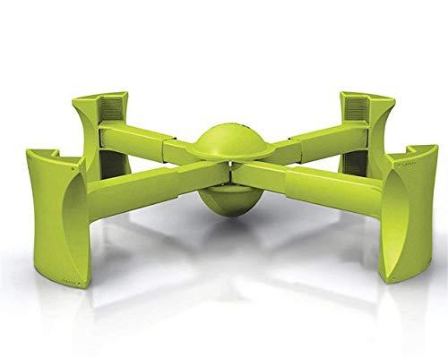 Lehrstuhl Booster Sitzerhöhung Stuhlerhöhung Highchair Für Kinder bis zu 6 Jahren geeignet, Tragbar, Limettengrün