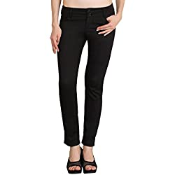 NGT Womens Formal Black Trouser in Special Quality.