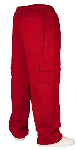Urban Classics Hommes Cargo Sweatpants TB031 brown