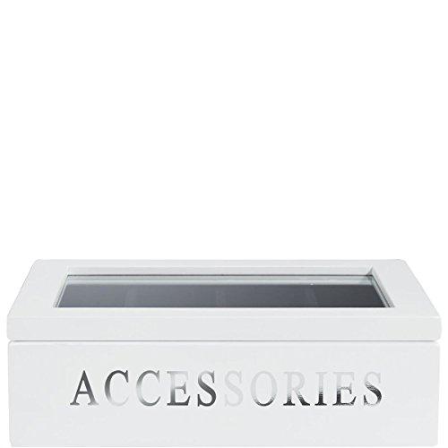 Butlers Audrey Aufbewahrungskiste für Accessoires Schmuckbox - für modisches Zubehör - mit Samtbezug
