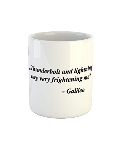 mit Aufdruck Thunderbolts And Lightning Galileo ()