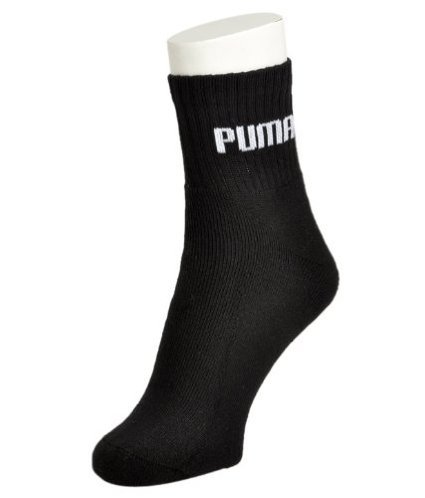 Puma Cotton Socks, Standard (Black)