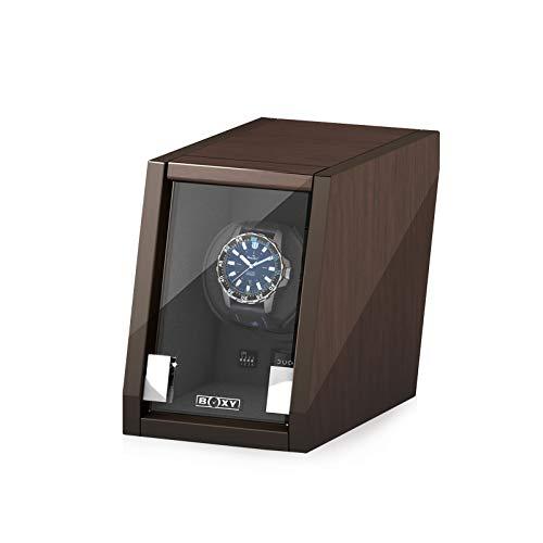 Boxy Castle Uhrenbeweger Walnuss von Beco Technic für eine Uhr