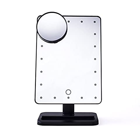 (Promotions Super Discount)Comwinn 2nd Generation Makeup Mirror with Lights, 20 Bright LEDs, 12
