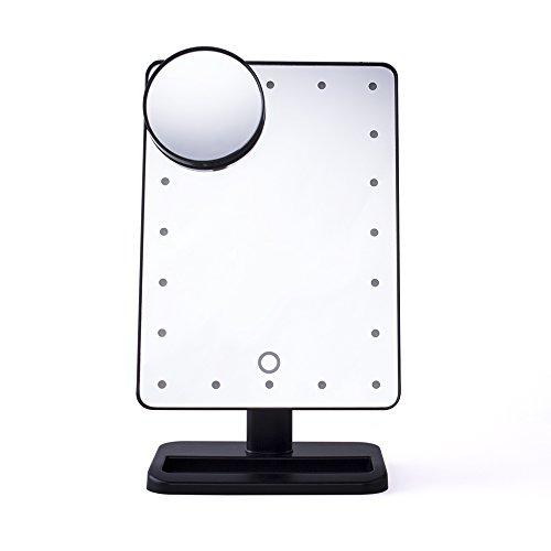 comwinn prossima generazione specchio per il trucco con le luci, 20 LED, 12