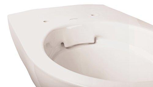 Keramag Renova Rimfree Wand-WC Tiefspüler, 1 Stück, weiß, 03981 9 - 4