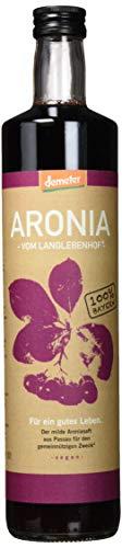 """2x Bio Aroniasaft - Vom Langlebenhof ,,DER MILDE"""" - 2 x 750ml Flaschen - 100% Direktsaft - Aronia Muttersaft - ohne Zusätze"""