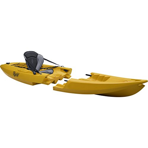 Kayak Desmontable TEQUILA GTX solo (amarillo)