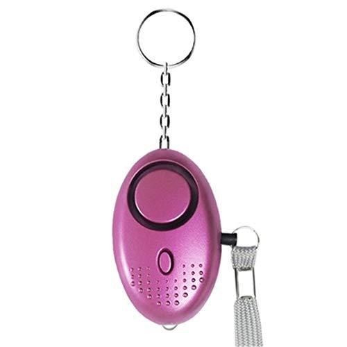Polizei genehmigt Sicherheit Mini-SicherheitsalarmSelbstverteidigung Schlüsselanhänger Persönlicher Alarm Alarm mit Schlüsselbund Mit Taschenlampe wird es verwendet temporären Verbrecherabzuschrecken