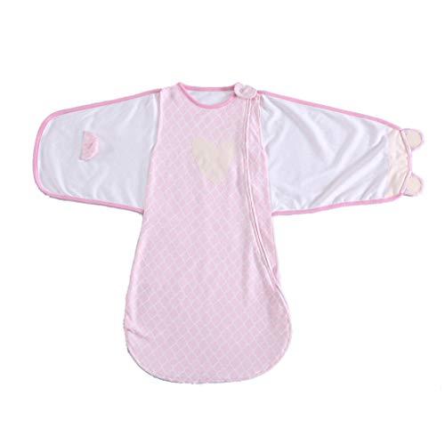 JunYe Saco Dormir algodón bebés Unisex 4 Temporadas