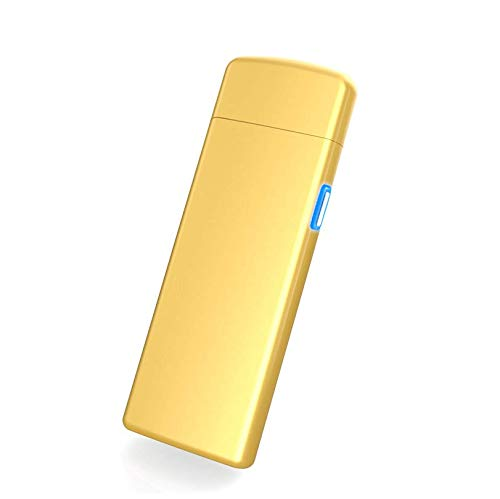 USB Feuerzeug elektronisches aufladbar, Flamme ohne Gas. Premium-Qualität mit Geschenk-Box. Ultra-feine. SturmFeuerzeug