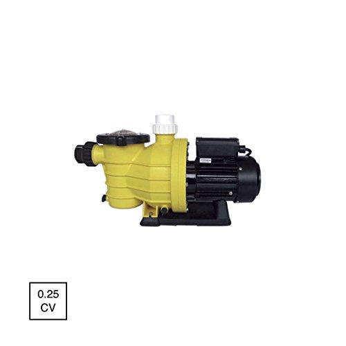 Mareva 07273Pumpe Pool-Durchsatz 6.5M³/h Leistung 0,25CV gelb