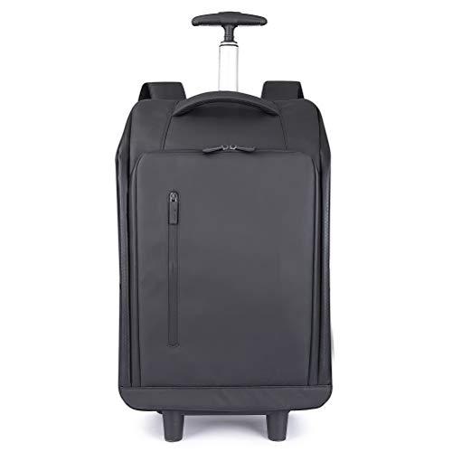 Business Trolley Rucksack 18 Zoll Ultraleicht Schultern Reisetaschen Multifunktions Koffer Räder Rollgepäck Handgepäck Trolley Laptoptasche