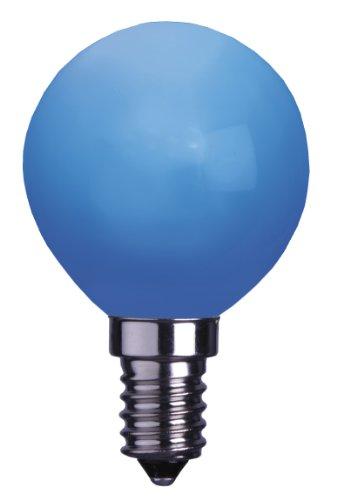 Best Season 336-49 Decoline Ampoule LED E14/230 V Rond Bleu