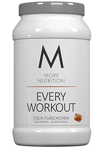 More Nutrition Every Workout Booster. Wach & Fokussiert Bei Jedem Training. Für Bodybuilding Und Kraftsport 1 x 700g (Cola-Fläschchen)