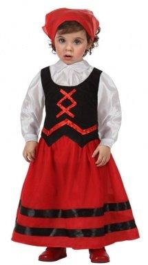 Imagen de atosa  disfraz de pastora rojo y negro , t1