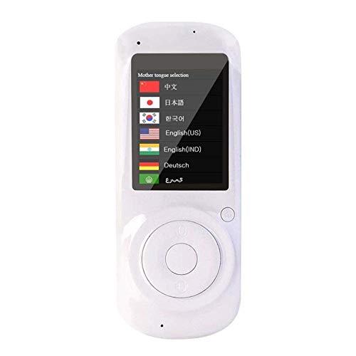 """HYCy Intelligentes bidirektionales Sofort-Sprachübersetzergerät, 2,4"""", Touchscreen, Mini-Handheld-Simultan-Zweiwege-Sprachübersetzung Englisch, Chinesisch, Französisch, Spanisch, Deutsch"""