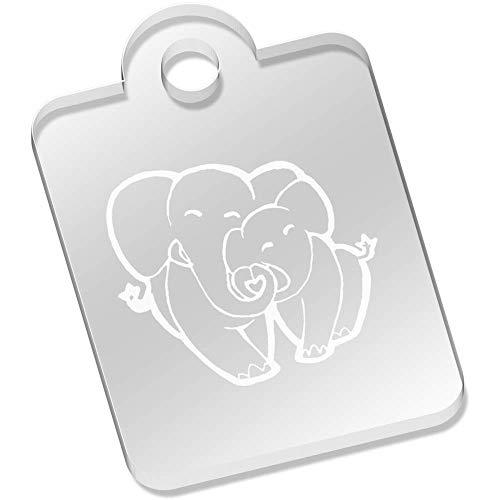 Azeeda 'Amor Elefantes' Llavero (AK00054516)