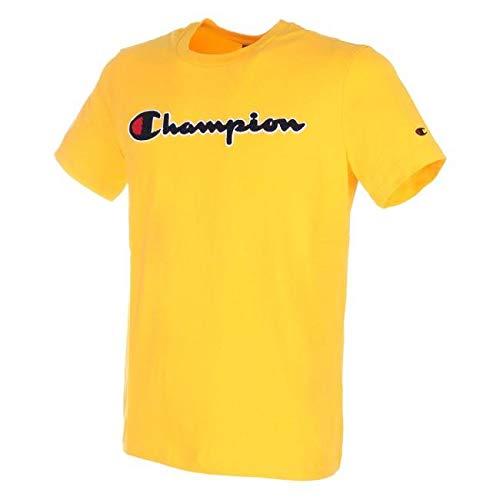 Patch Crewneck T-shirt (Champion Crewneck T-Shirt 212946-YS011 LCO Herren T-Shirt (M, LCO))