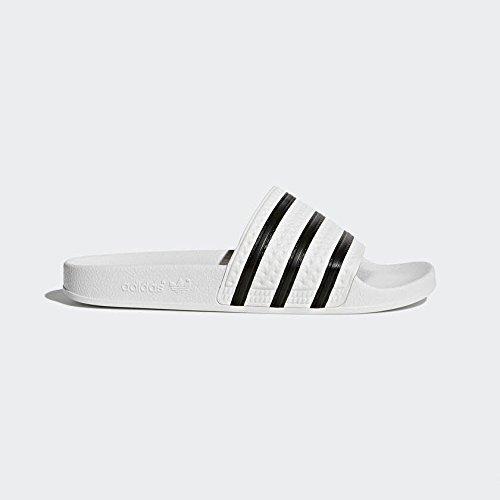 Adidas 280648 slipper herren weiß 42