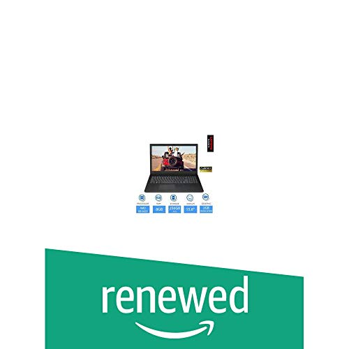 (Renewed) Lenovo V145-AMD-A6 15.6 inch HD Thin and Light Laptop (4GB RAM/ 1TB HDD/ DOS/ with DVD Writer/ Black/ 2.1 kg), 81MT0034IH