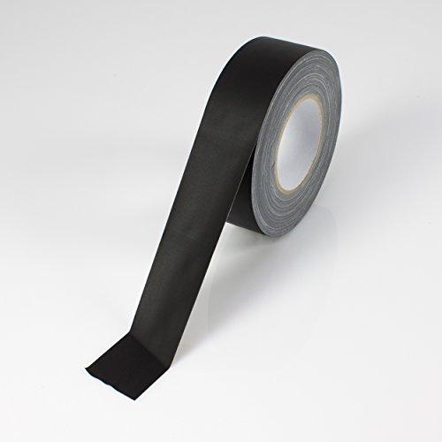 Power Gaffa Tape, matt schwarz, 50m x 50mm - Gewebeklebeband / Bühnenklebeband - showking