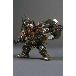 Blade - Figura, World Of Warcraft Dwarf Warrior (Thargas) 4