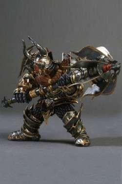 Blade - Figura, World Of Warcraft Dwarf Warrior (Thargas) 1