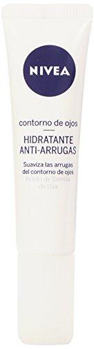 Nivea - Conorno de ojos hidratante anti-arrugas - Aceite de semilla de Uva - 15 ml