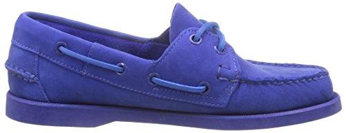 Sebago Docksides Bright, Chaussures Femme Bleu (Bright Blue)
