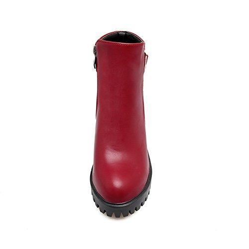 Balamasa Balamasaabl10018 - Sandales Compensées Pour Femmes Rouge