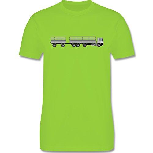 Andere Fahrzeuge - Lastzug - Herren Premium T-Shirt Hellgrün