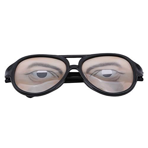 Halloween Witz Augen Brille Phantasie Specs Form Ändern Shades Geburtstagsgeschenk (Männlich) ()