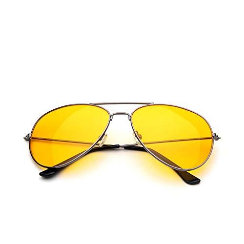 len Mode In Übergröße Candy Farbe Grau Gelb Sonnenbrille Frauen Männer Klare Gläser Ocean Color Sonnenbrille Linse ()