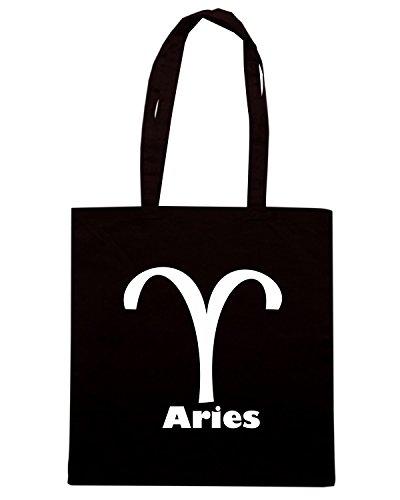 T-Shirtshock - Borsa Shopping T0210 ARIES ariete religioni celtic Nero