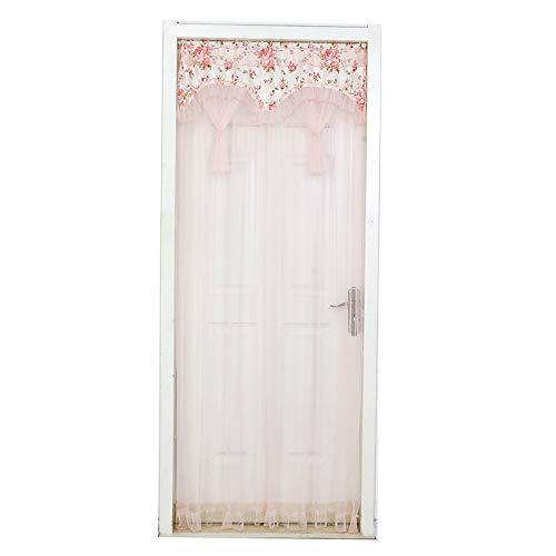 DQZLF Moskito-Vorhang-Vorhang-Spitze-einfaches Fach-Vorhang-Wohnzimmer-Sommer-Dekorations-Haus,D,90 * 200cm±2cmerror