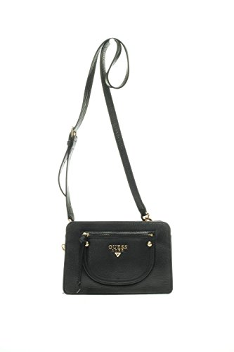 Guess Donna Borse mini e tracolline HWPHOE L7314 BLA BORSA MINI PHOEBE CROSSBODY TOP ZIP Nero