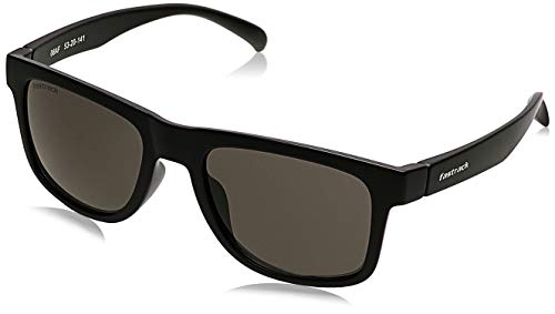 Fastrack UV Protected Wayfarer Men\'s Sunglasses - (P424GR3|53|Green Color Lens)