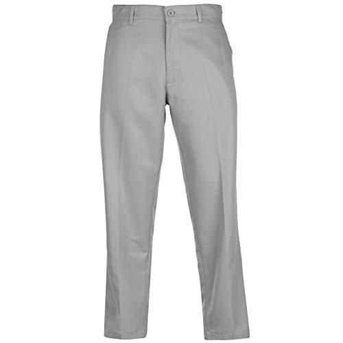 Slazenger Herren Golf Hose Regular Fit Hellgrau 32W 31R