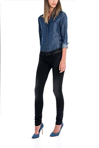 Salsa - Jeans Slim Shape Up - Femme Noir
