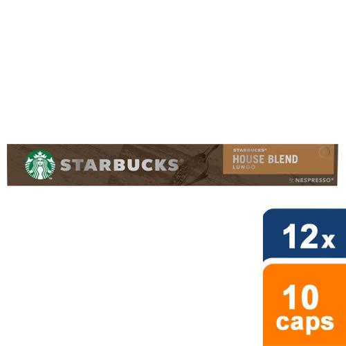 Starbucks® - House Blend by Nespresso® Medium Roast - 12x 10 Capsules (Medium-roast-kaffee)