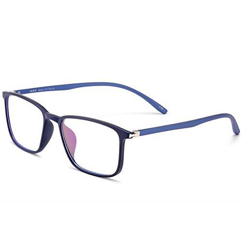 Blau lichtundurchlässige Brille, Computer-Brille, Anti blaues Licht, Anti Augenermüdung/Anti Scratch/Anti UV Computer-Brille für Männer Frauen-2