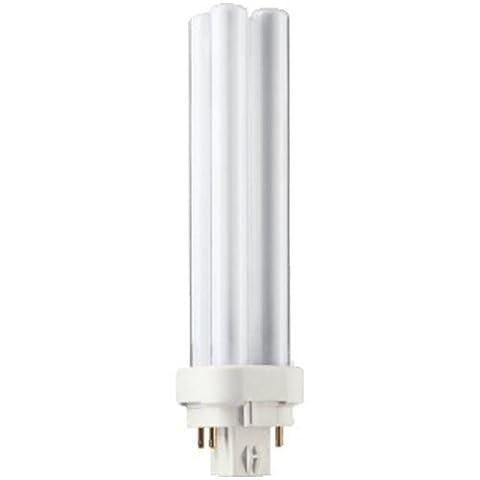 Philips Kompakt-Leuchtstofflampe Master PL-C 18W/830 4P G24q-2 warmwhite