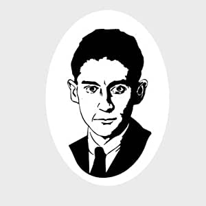 Franz Kafka - Portrait Aufkleber Autoaufkleber Sticker Vinylaufkleber Decal