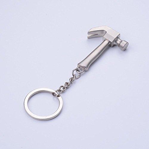 ZPL Catene chiave di modo creativo strumento martello zinco lega