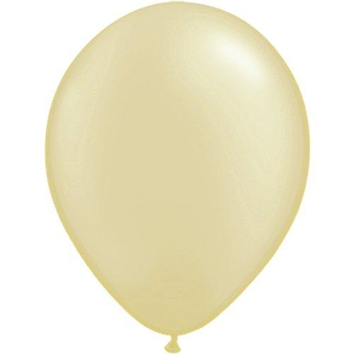 partydiscount24 100 x Luftballons Ø 30 cm   Freie Farbauswahl   23 Ballon Farben (Creme)