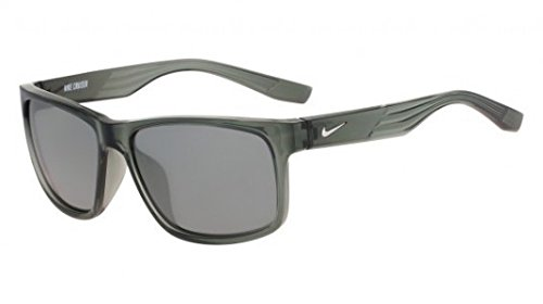 Nike Herren Sonnenbrille Cruiser Ev0834 011 59, Silber (Mrcy W/Gry Sl FL)